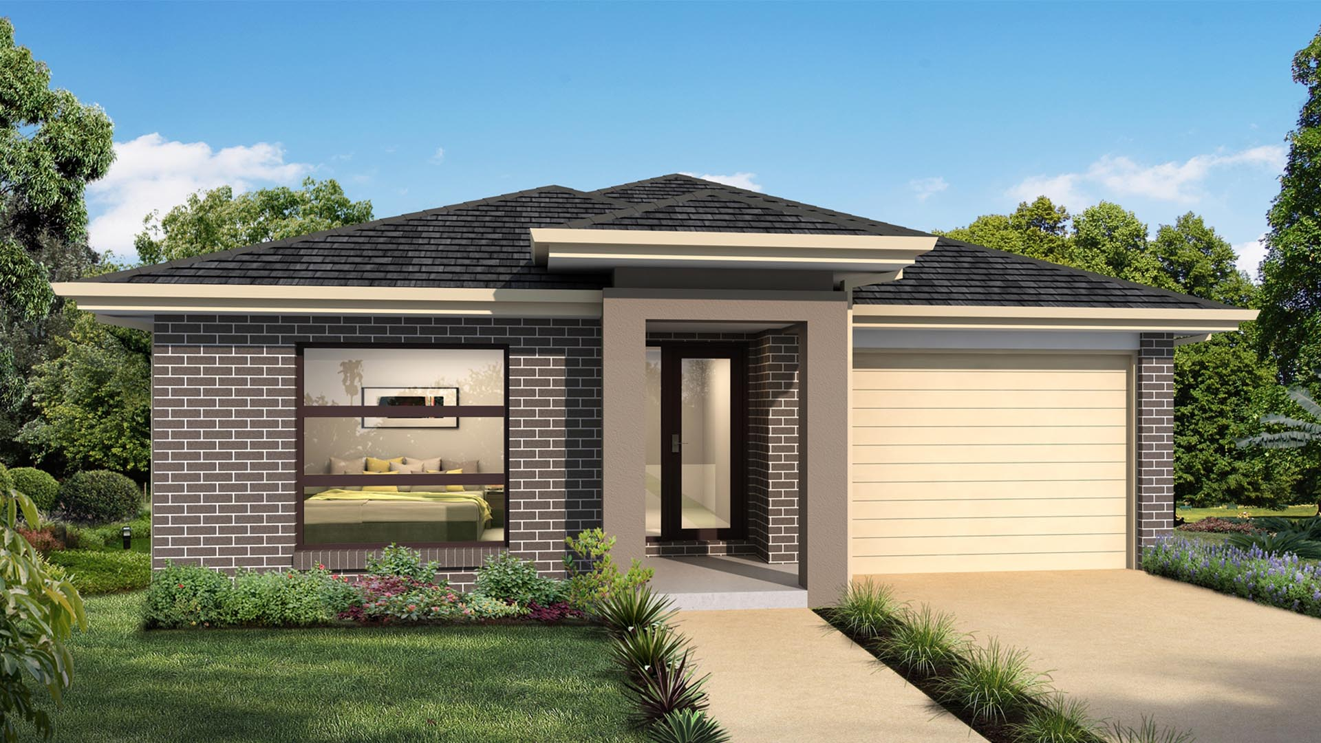 Aspect RHS Single Garage