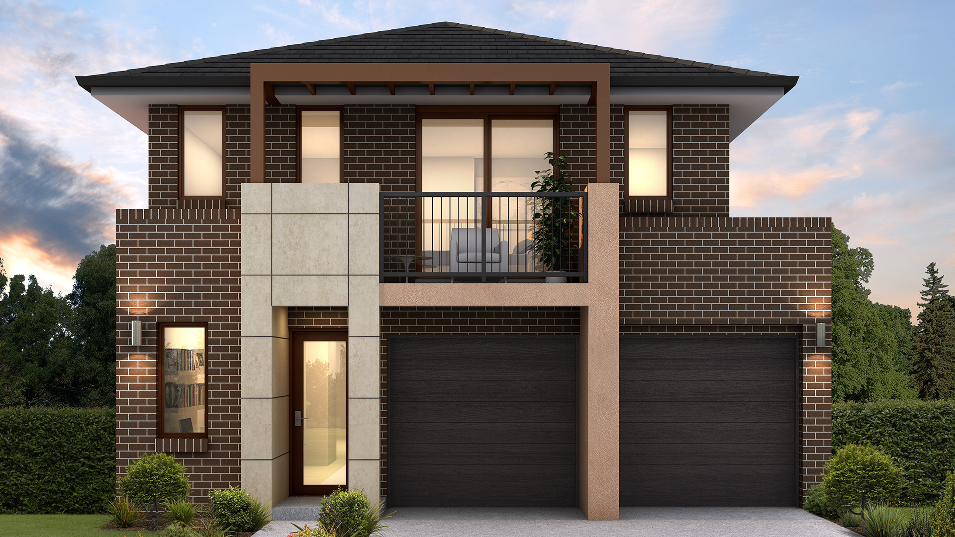24 Spectacular Two Story Homes Designs Nice Home Decoration Interior